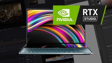 GeForce RTX 3070 - test laptopowego GPU w środowisku NVIDIA Studio