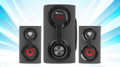 Genesis Helium 700BT - recenzja niedrogich gamingowych głośników 2.1