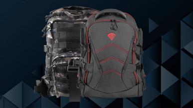 Genesis Pallad 450 Camo oraz Pallad 550 - test gamingowych plecaków