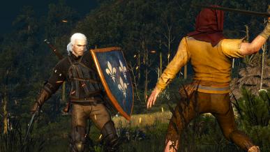 Geralt z tarczą? – fanowska modyfikacja do Wiedźmina 3