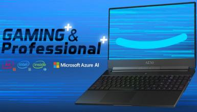 Gigabyte Aero 15 to laptop, który wykorzystuje AI do zwiększenia wydajności