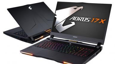 Gigabyte wprowadza laptopy z procesorami Intel 10. generacji i Nvidia RTX