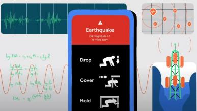 Google będzie używać smartfonów z Androidem jako urządzeń do wykrywania trzęsień ziemi