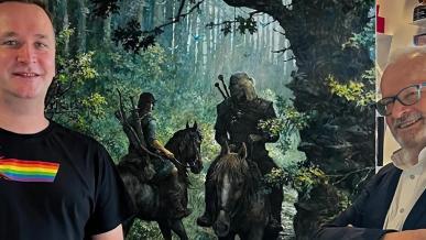 Geralt spotyka Thorgala. Praca Grzegorza Rosińskiego robi furorę, CD Projekt zyskuje na giełdzie