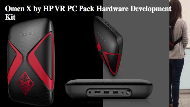 HP Omen X VR PC Pack - komputer w formie plecaka