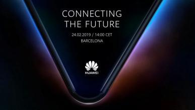 Huawei Mate X - składany smartfon zaprezentowany na zdjęciu