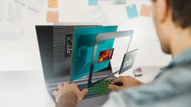 Hyperbook prezentuje laptopa V15 z nowymi procesorami Intela i AMD