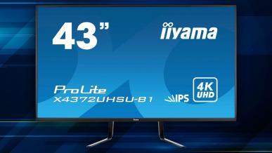 iiyama ProLite X4372UHSU-B1 - test 43-calowego monitora IPS 4K