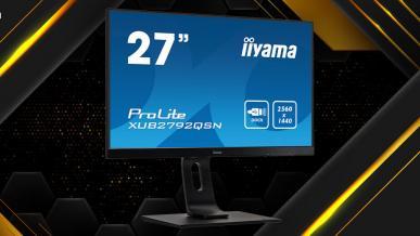 iiyama ProLite XUB2792QSN-B1 - test biurowego monitora QHD IPS ze stacją dokującą