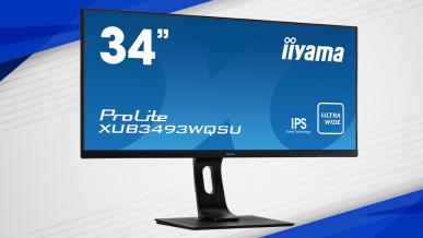 iiyama ProLite XUB3493WQSU-B1 - test uniwersalnego monitora 21:9 (UWQHD)