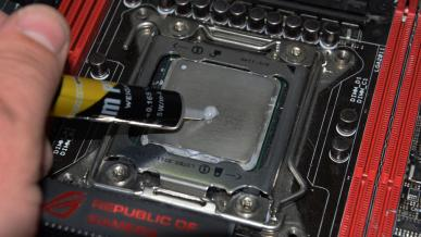 Jak zaaplikować pastę termoprzewodzącą? Test dziesięciu popularnych metod