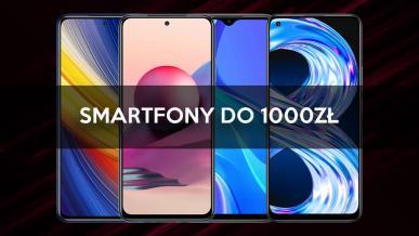 Jaki smartfon za 1000 zł? Polecane modele na wrzesień/październik 2021