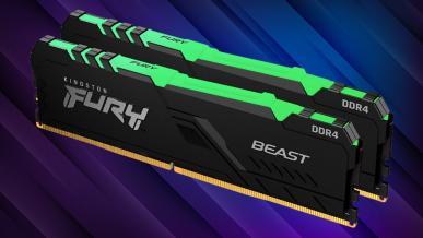 Kingston FURY Beast RGB 2x8 GB 3600 MHz CL 17. Test efektownie podświetlonej pamięci RAM