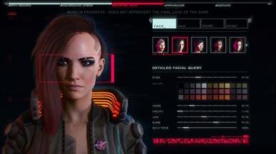 Konfigurator postaci w Cyberpunk 2077 pozwoli nawet na zabawę genitaliami