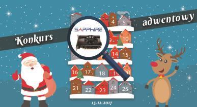 Konkurs Adwentowy 2017 - Dzień #13 Sapphire - Wyniki