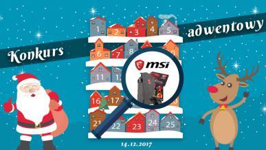 Konkurs Adwentowy 2017 - Dzień #14 MSI Vol2 - Wyniki