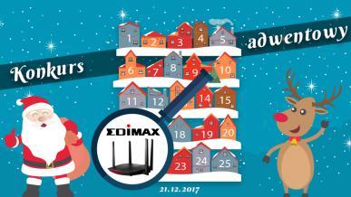 Konkurs Adwentowy 2017 - dzień #21 Edimax - Wyniki