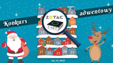 Konkurs Adwentowy 2017 - dzień #24 Zotac - Wyniki