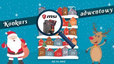 Konkurs Adwentowy 2017 - Dzień #7 MSI - Wyniki