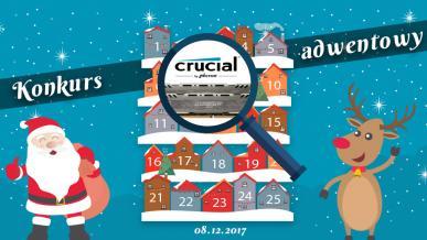 Konkurs Adwentowy 2017 - Dzień #8 Crucial/Alsen -Wyniki