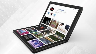 Lenovo prezentuje pierwszy laptop ze składanym ekranem