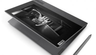 Lenovo ThinkBook Plus to laptop z dodatkowym ekranem e-ink