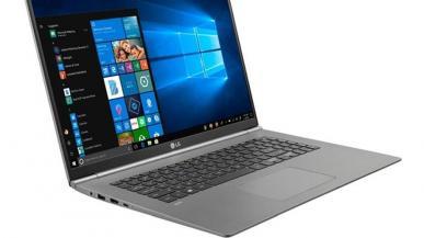 LG Gram -  niesamowicie lekki 17-calowy laptop z Intel Core i7
