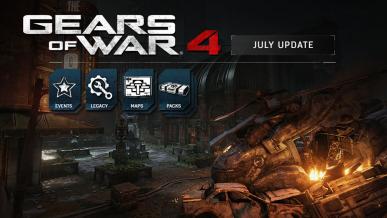 Lipcowa aktualizacja do Gears of War 4 - nowe mapy oraz burze piaskowe