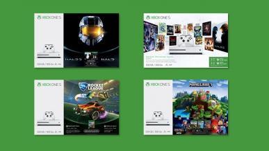 Microsoft przygotował aż 4 zestawy Xbox One S na sezon świąteczny