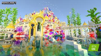 Minecraft z ray tracingiem i DLSS 2.0 - już jutro startują beta testy