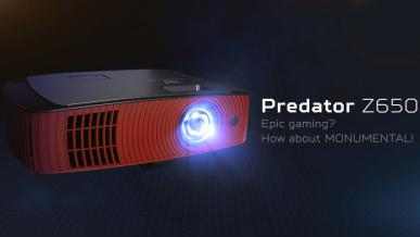 Mini-test Acer Predator Z650, czyli projektor dla graczy w akcji