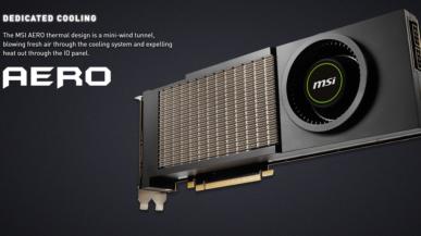 MSI GeForce RTX 3090 AERO - konstrukcja nawiązująca do grzejących się 11-letnich kart Fermi