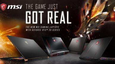 MSI prezentuje nowe gamingowe laptopy z kartami GeForce RTX