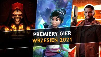 Najlepsze premiery gier - Wrzesień 2021