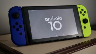 Nintendo Switch otrzymało wsparcie Androida 10 - oczywiście nieoficjalnie