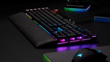 Nowy flagowiec Korsarzy – premiera gamingowej klawiatury Corsair K100 RGB