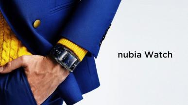 nubia Watch - nietypowy smartwatch z elastycznym wyświetlaczem