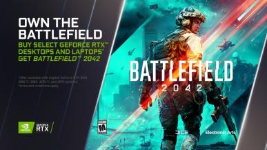 NVIDIA na Gamescom 2021: Kolejne gry AAA z obsługą RTX i Battlefield 2042 w promocji