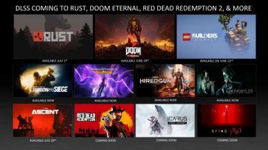 NVIDIA zapowiada wysyp gier wykorzystujących technikę DLSS oraz ray tracing
