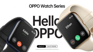 Oppo Watch wygląda niemal identycznie jak Apple Watch