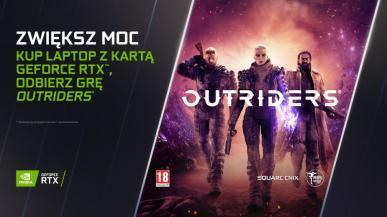 Outriders za darmo z laptopami z GeForce RTX. NVIDIA DLSS trafia do trzech nowych gier