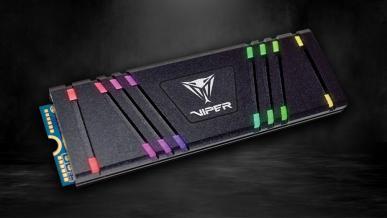 Patriot Viper Gaming VPR100 - test dysku SSD M.2 PCIe z podświetleniem RGB