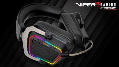 Patriot Viper V380 - recenzja headsetu klasy premium z RGB i 7.1