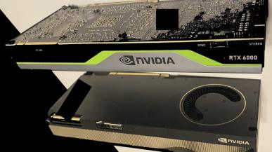 Pierwsze zdjęcia NVIDIA Quadro RTX (A) 6000 - GPU GA102, 48 GB GDDR6 VRAM i nowe 8-pinowe złącze