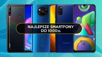 TOP 10 smartfonów do 1000 zł. Co wybrać?