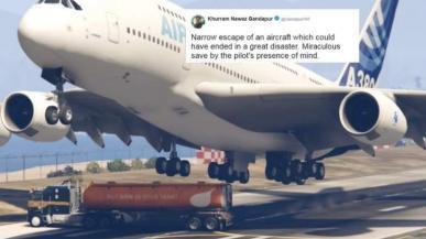 Polityk pomylił lądowanie samolotu w GTA V z prawdziwym zdarzeniem