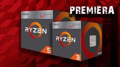 Premiera! Test procesorów AMD Ryzen 3 2200G oraz Ryzen 5 2400G