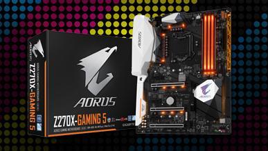 Premierowy test płyty głównej Aorus GA-Z270X-Gaming 5 od Gigabyte