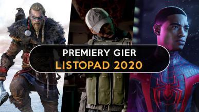 Premiery gier - listopad 2020