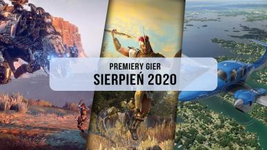 Premiery gier - Sierpień 2020